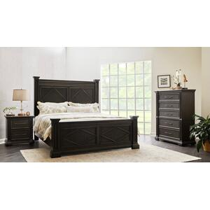 Samuel Lawrence Furniture - Queen Bed, Dresser, Mirror, Chest and Nightstand (KING AVAILABLE)