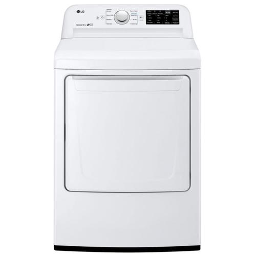 LG - LG 4.5 cu. ft. Top Load Washer & 7.3 cu. ft. Gas Dryer (sold as set)
