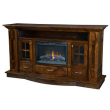 Delgado Fireplace Entertainment Center
