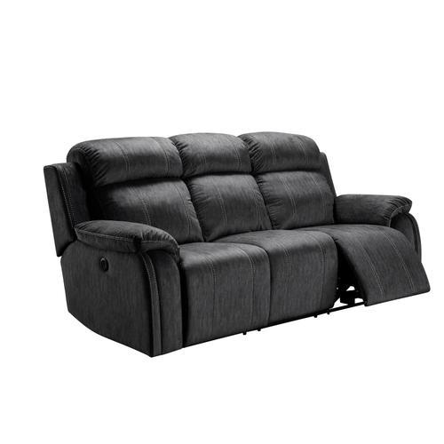 New Classic Furniture - Tango Dual Recliner Sofa in Velvet Soft Fabric