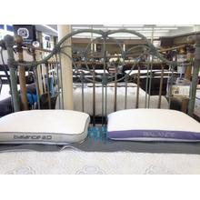 View Product - Wesley Allen Quuen Size Headboard in Textured Patina floor sample as is