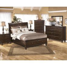 Ashley Queen Sleigh Bed w/Storage, Dresser/Mirror & Nightstand Group