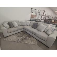 Ardsley 3 Pc. Sectional Pewter