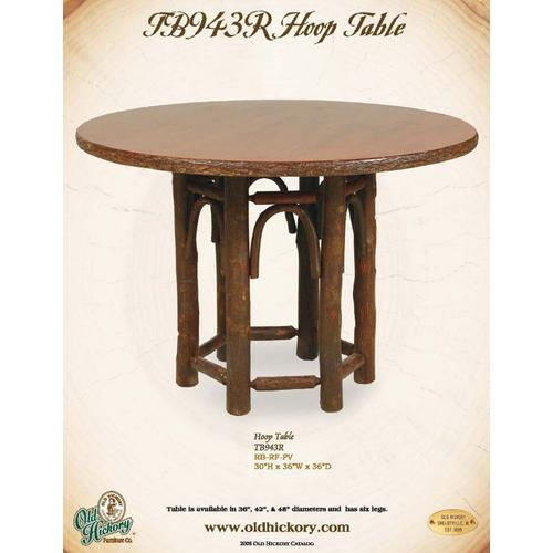 Old Hickory Furniture - Hoop Table