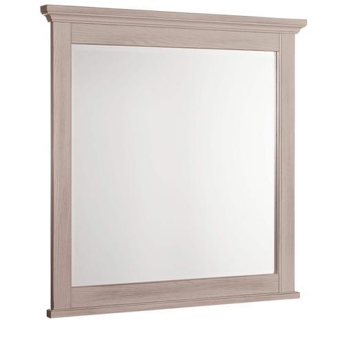 Vaughan-Bassett - Bungalow Small Landscape Mirror - Dover Grey Finish
