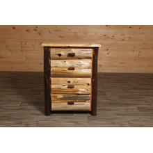 Cedar and Hickory 4 Drawer Chest