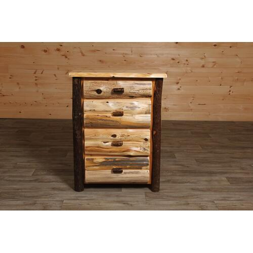 Cozy Creations Collection - Cedar and Hickory 4 Drawer Chest