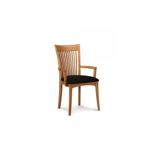 SARAH ARMCHAIR WITH UPHOLSTERED SEAT