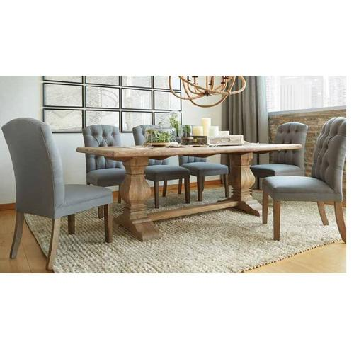 Home Trends and Design - Home Trends and Design San Rafael Table and 6 Chairs