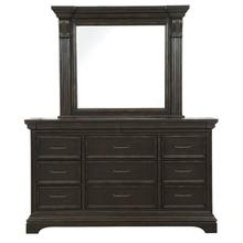 See Details - Caldwell Dresser And Mirror