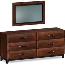 American Modern Dresser and Mirror