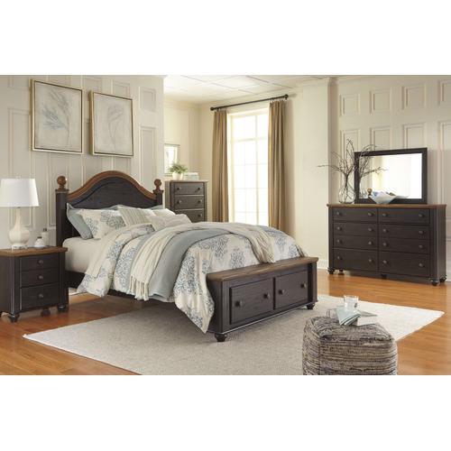 Ashley Furniture - Ashley Furniture B220 Maxington - Two-tone Bedroom Set Houston Texas USA.