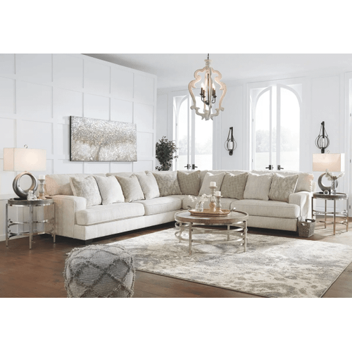 Rawcliffe - Parchment - 3-Piece Sectional