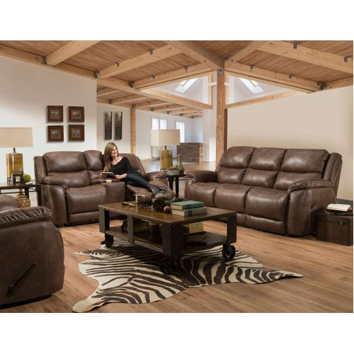 152-30-21  Reclining Sofa and Loveseat - Riata Bison