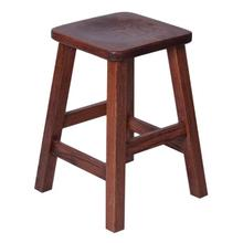 "18"" Square Straight Leg Bar Stool"