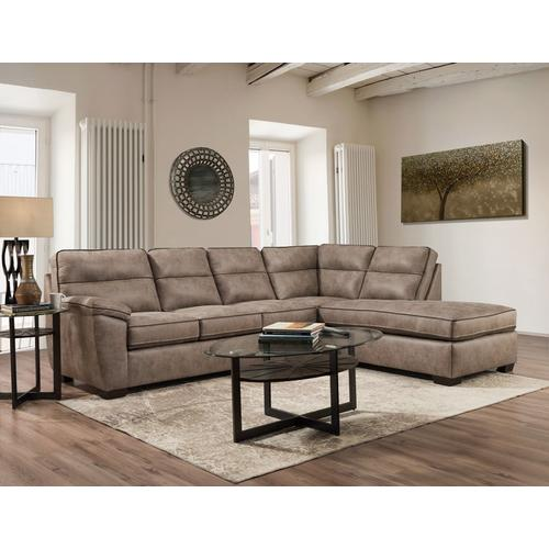 American Furniture Manufacturing - Wesley Sand Sectional