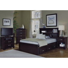 See Details - Bookcase Bed Groupset
