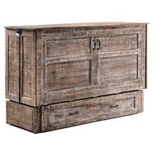 Poppy Murphy Cabinet Bed in White Bark