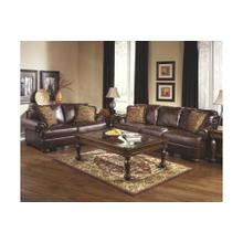 Ashley 420 Axiom Walnut Sofa & Love