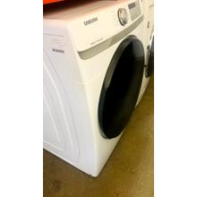 See Details - USED- 7.5 cu. ft. Smart Electric Dryer with Steam Sanitize  in White- FLDRYE27W-U  SERIAL #86