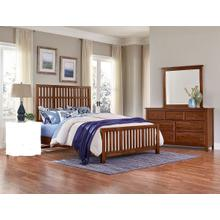 See Details - Solid Amish Cherry 5 piece bedroom set Group model# 100