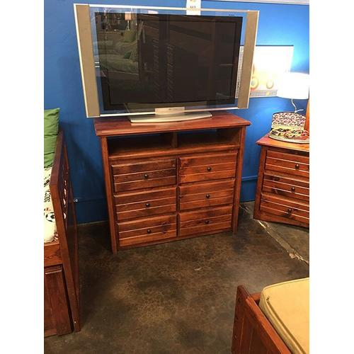 6 Drawer Media Chest Cocoa