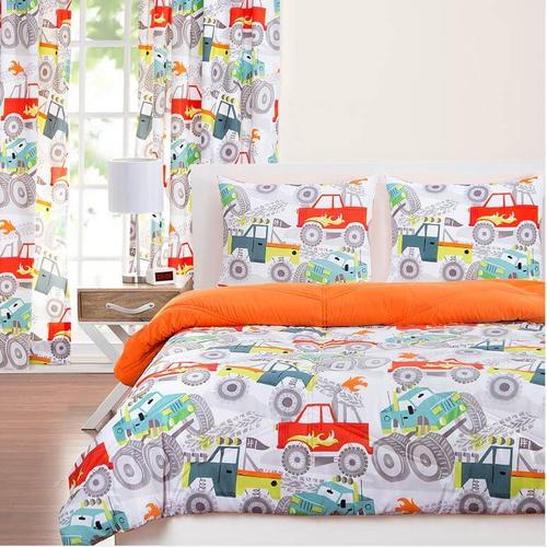 """Four Wheelin'"" Crayola Comforter Sets Twin"
