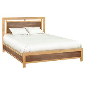 Whittier Wood Furniture - Addison queen panel bed