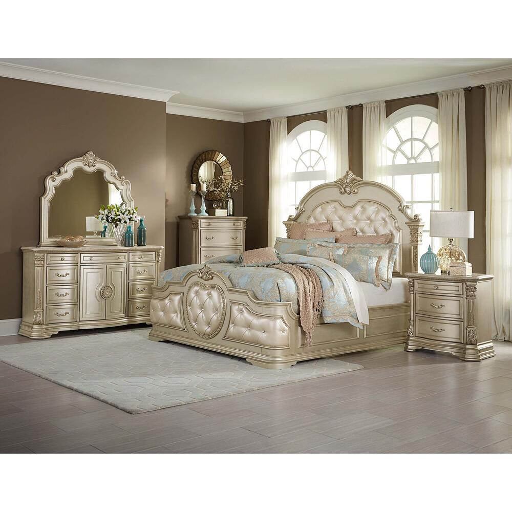 Antonietta 4Pc Cal King Bed Set