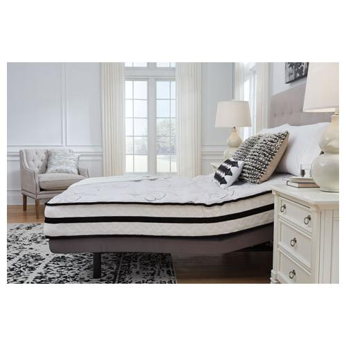 """Product Image - Scott-1 Queen 10"""" Hybrid Innerspring Mattress with Head Adjustable Power Base Option"""