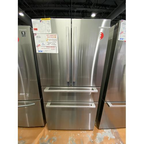 Bosch - Openbox 800 Series French Door Bottom Mount Refrigerator 36'' Easy clean stainless steel B36CL80SNS