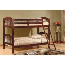 TWIN / TWIN CHERRY BUNK BED