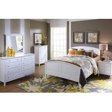 C3226  White Bedroom Suite - Full Bed Available