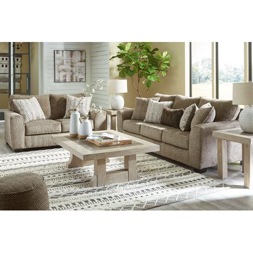 Olin Chocolate Loveseat