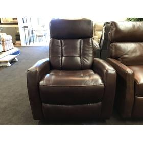 Galen Swivel Power Recliner with Adjustable Headrest