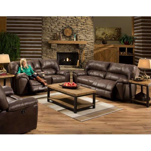 American Furniture Manufacturing - Stallion Saddle Sofa - Reclining