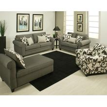 Grey Stationary Sofa