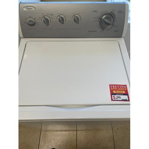 Treviño Appliance - Whirlpool Washer