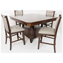 View Product - Manchester Hi/Low Storage Table with 4 Chairs