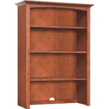 "30"" Wide Hutch - Glazed Antique Cherry Finish"