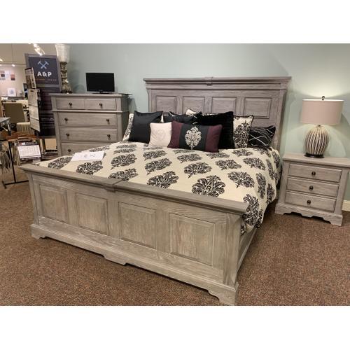 Heritage King Grey Bedroom Set