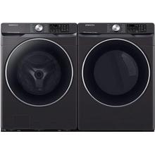 Samsung 4.5-cu ft Front-Load Washer & 7.5-cu ft Reversible Side Swing Door Gas Dryer Set