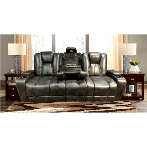 Highlander - Power Reclining Sofa with Drop Down Table