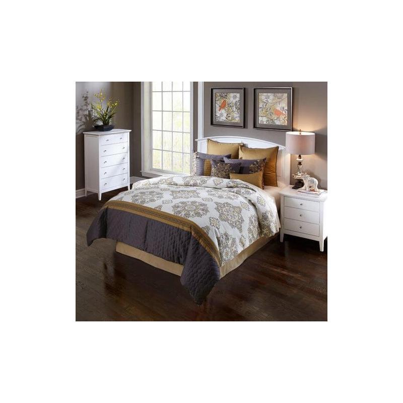 Brylee Comforter Set King10pc & Queen 9pc