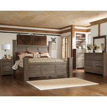 See Details - Juararo - Queen Poster Bed, Dresser, Mirror, & 1 X Nightstand