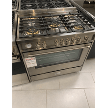 """View Product - Stainless Steel 36"""" Designer Gas Range"""