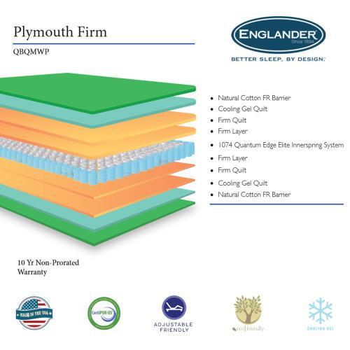 Englander Mattress - Plymouth - Firm