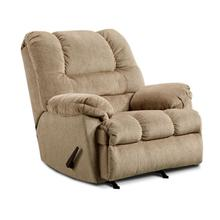 UNITED 600 Tan Rocker Recliner