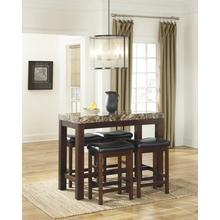 Kraleene Counter-Height Table & 4 Stools