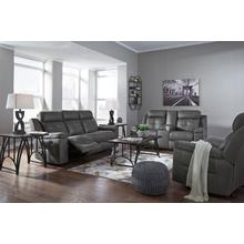 See Details - Ashley Jesolo Grey Reclining Sofa and Loveseat